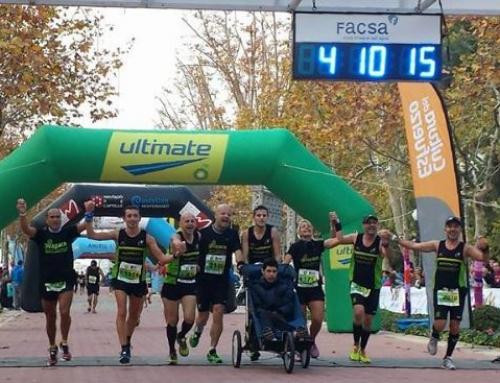 Maratón solidaria con AVAPACE Corre